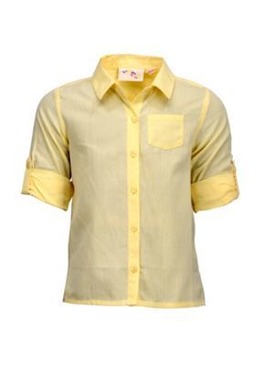 Budding Bees BB927 Light Yellow Girl Shirt