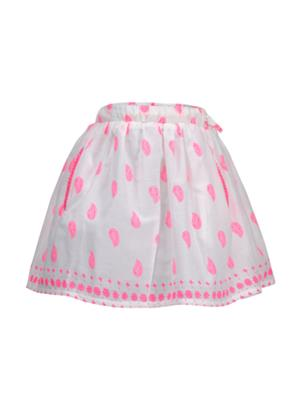 Budding Bees BB929 White Girl Skirt