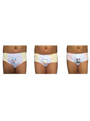 Lilsugar Bbl01 Multicolored Boy Brief Set Of 3