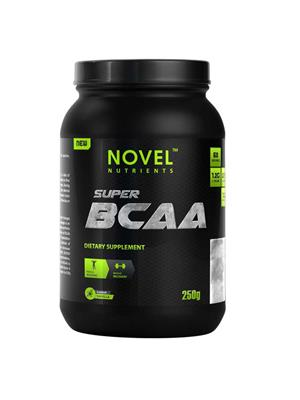 Novel Nutrients NOVEL NUTRIENTS SUPER BCAA 250 GM VANILLA FLAVOURED - MUSCLE BOOSTER