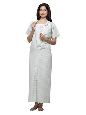 Vedvid BCFO-SG  Sea Green Cotton Night Gown