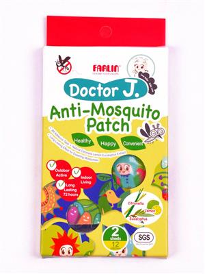 Farlin Bck 003 Unisex-Baby Anti -Mosquito Patch