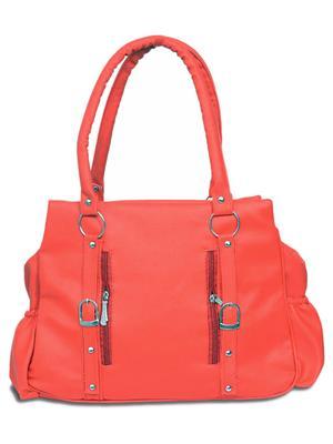 Best Deal Bd-Lp102 Orange Women Shoulder Bag