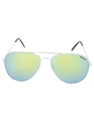 Benour Benav030 Multicolored Unisex Aviator Sunglasses