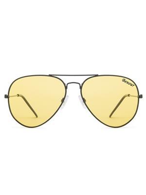 Benour Benav031 Yellow Unisex Aviator Sunglasses