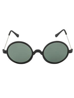 Benour Benrd012 Green Unisex Round Sunglasses