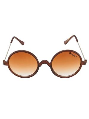 Benour Benrd013 Brown Unisex Round Sunglasses
