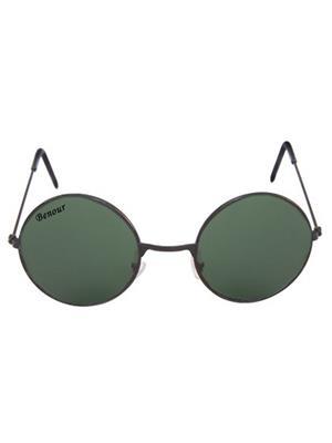 Benour Benrd014 Green Unisex Round Sunglasses