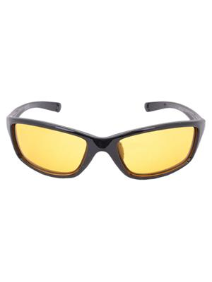 Benour Bensnt001 Yellow Unisex Wrap-around Sunglasses