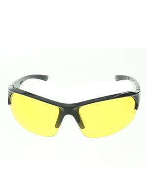 Benour Bensnt002 Yellow Unisex Wrap-around Sunglasses