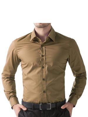 Being Fab Bfdg Olive Men Formal Shirt