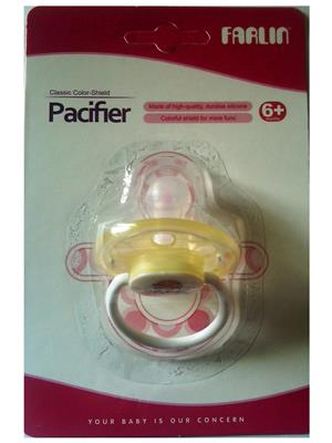 Farlin Bf 003S - Yellow Unisex-Baby Pacifiers