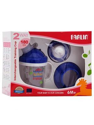 Farlin Bf 18902 - Blue Unisex-Baby Training Cup