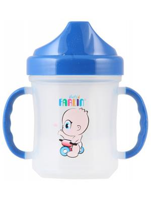 Farlin Bf 19601 - Blue Unisex-Baby Training Cup