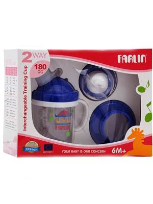 Farlin Bf 19601 - Orange Unisex-Baby Training Cup