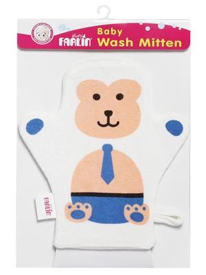 Farlin Bf 301 - Blue Unisex-Baby Washcloths & Wash Gloves