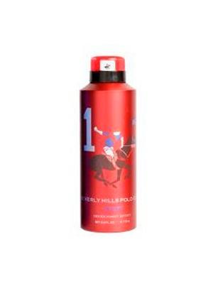 Beverly Hills Polo Club Bh-Sr Red Deodorant For Men