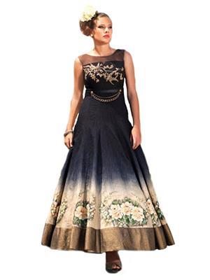 Isha Enterprise BHVWS-1101 Multicolored Women Gown