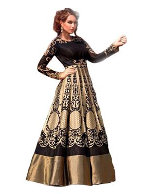 Isha Enterprise BHVWS-1109 Multicolored Women Gown