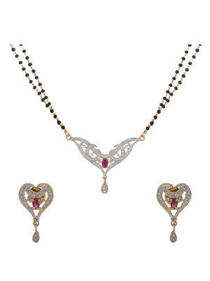 Birka Jewels BJAZADMS05001 Silver Women Jewellery Sets