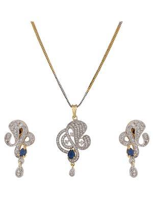 Birka Jewels BJAZADPS07003 Silver Women Jewellery Sets