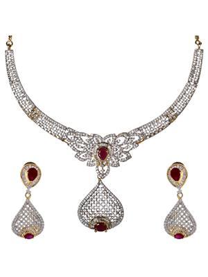 Birka Jewels BJAZADS001052 Silver Women Jewellery Sets