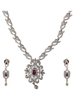 Birka Jewels BJAZADS001057 Silver Women Jewellery Sets