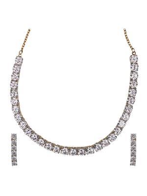 Birka Jewels BJAZADS001058 Silver Women Jewellery Sets