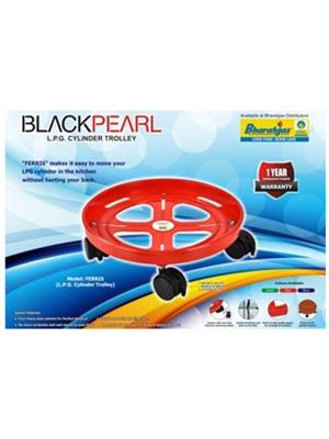 Blackpearl BLACK PEARL_  Ferris_set _2 Plastic Set of 2 Blackpearl Plastic Cylinder Trolley