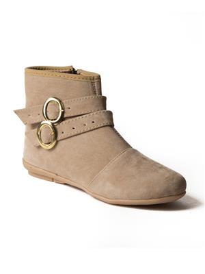 Mango People Bls-001-Bg Beigh Women Boots