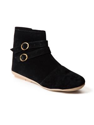 Mango People Bls-001-Bk Black Women Boots