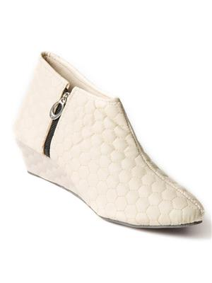 Mango People Bls-009-Ivy Ivory Women Boots