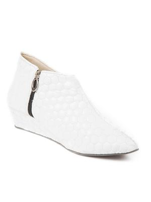 Mango People Bls-009-Wh White Women Boots