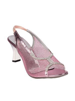 Mango People Bls-016-Pk Pink Women Heels