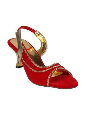 Mango People Bls-034-Rd Red Women Heels