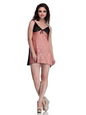 Belle Nuits BN120003P Beige Women  Net Nighty