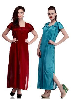 Belle Nuits BN2340021M-BNSP1460035T Multicolored Women  Nightwear