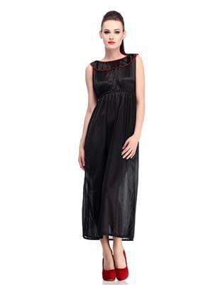 Belle Nuits BNF0016BNIGHTY Black Women Nightwear