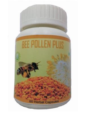 Hawaiian-Herbal Bppc72 Bee Pollen Plus Capsule Ayurvedic & Organic
