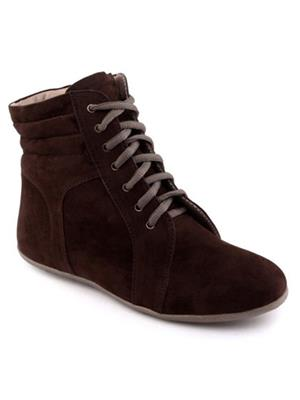 Red BravoS Br-1008Long Brown Women Boots