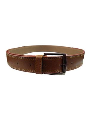 Ansh Fashion Wear BRN-A Brown Men Belt