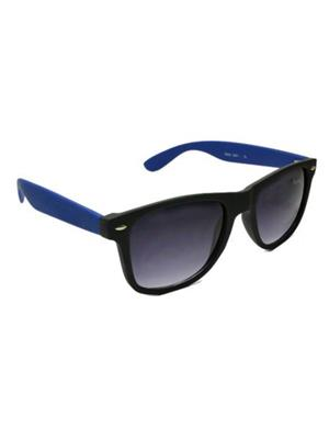 Backley Bs-1602 Black Blue Wayfarer Unisex Sunglass