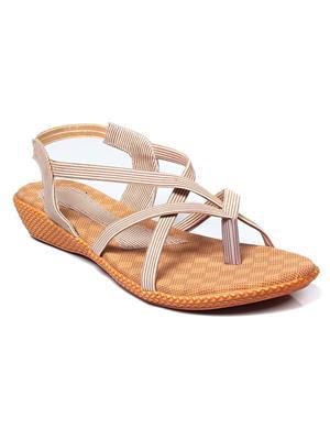 Bare Soles BSB-122a Beige Women Sandal