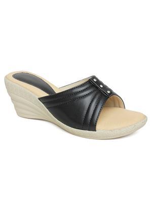 Bare Soles BSB-5261 Black Women Sandal
