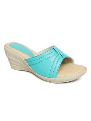 Bare Soles BSB-5261a Green Women Sandal