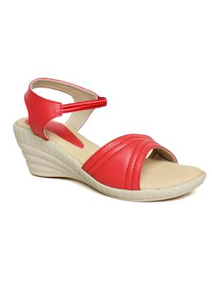 Bare Soles BSB-5263a Red Women Sandal