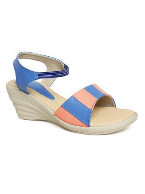 Bare Soles BSB-5264a Blue Women Sandal