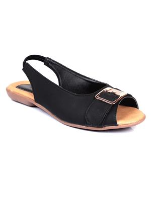 Bare Soles BSB-634 Black Women Sandal