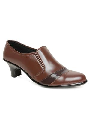 Bare Soles BSB-701a Brown Women Formal Shoes