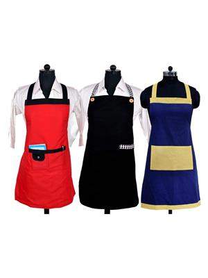 Switchon BST-3C-RBKBLU01 Multicolored Apron Combo